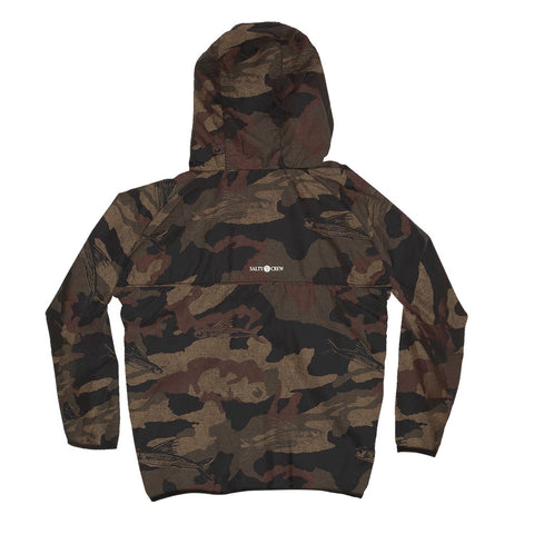 Seawall Camo Boys Packable Jacket