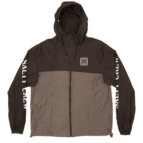 S-Hook Black/Charcoal Windbreaker