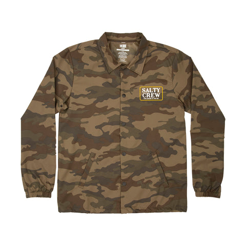 Deckhand Camo Coaches Jacket