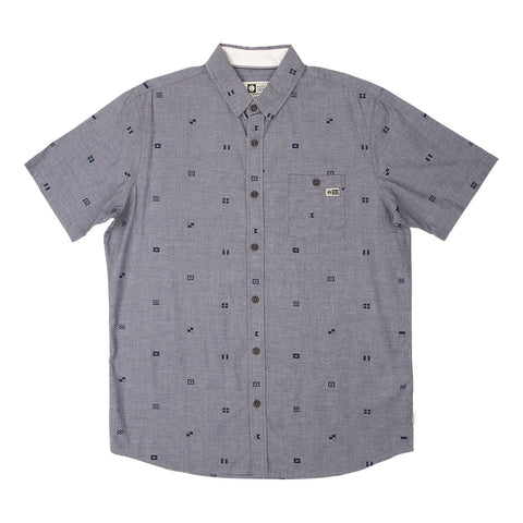Salty Crew woven button down shirt.