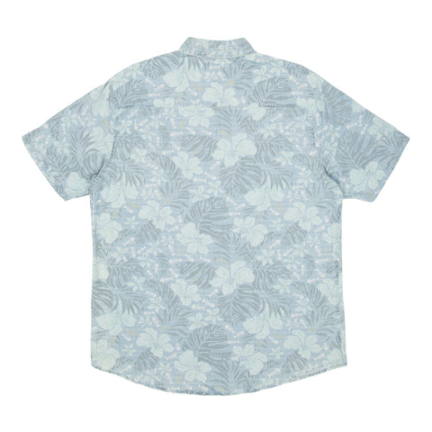 Drifting Dusty Blue S/S Woven