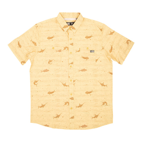 Salty Crew men's technical button down.