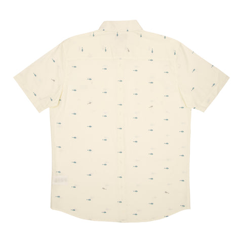 Salty Crew men's button down shirt.