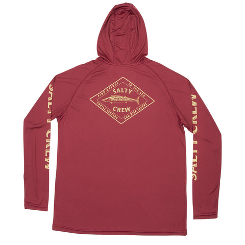 Hotwire Burgundy Pinnacle Tech Hood