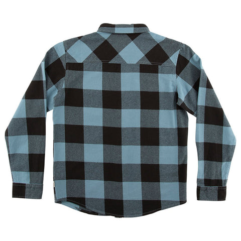Buffer Blue Flannel