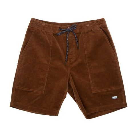 Fireside Tan Corduroy Short