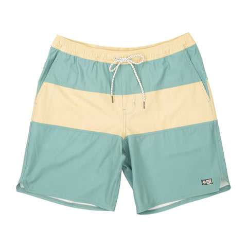Beacons Dusty Jade Elastic Boardshorts