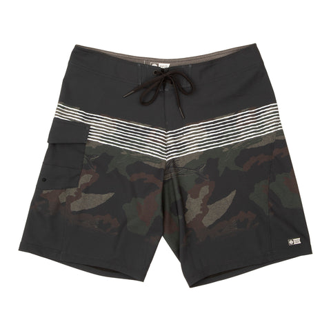 Pinnacle Angler Camo Boardshorts