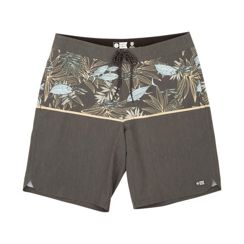 Feeding Frenzy Black Boardshorts