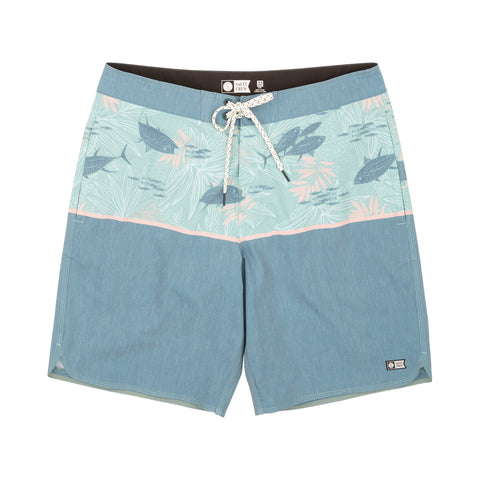 Feeding Frenzy Indigo Boardshorts