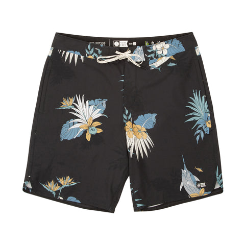 Catalina Black Boardshorts