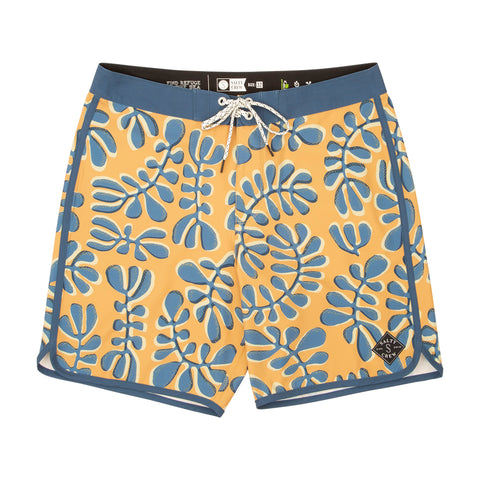 Day Tripper Gold Boys Boardshorts