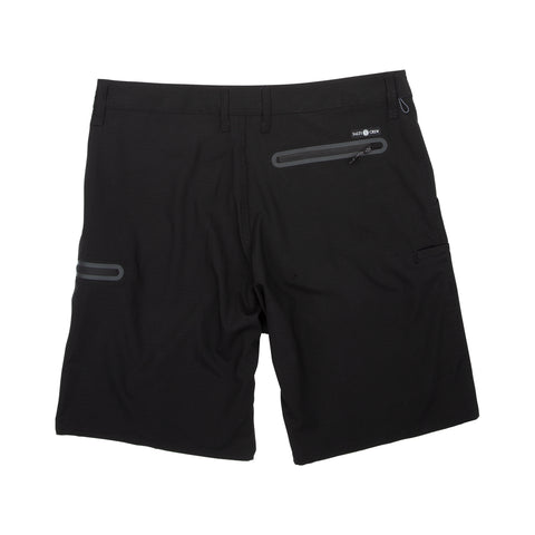 High Seas Black Ripstop Shorts