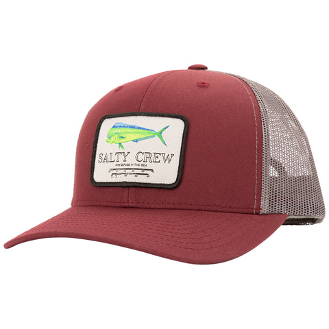 Mahi Mount Burgundy/Grey Retro Trucker