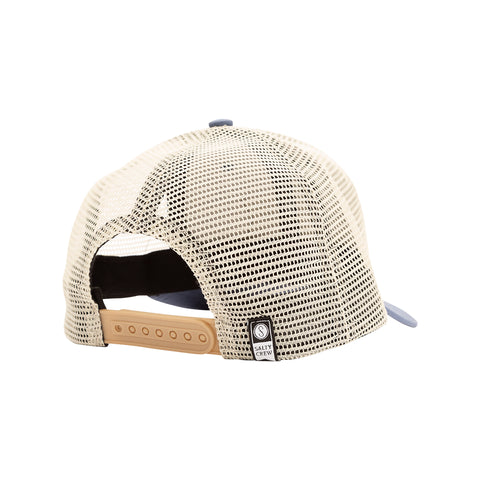 Pinnacle Slate/Off White Boys Retro Trucker