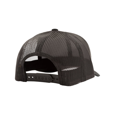 Double Down Black Retro Trucker