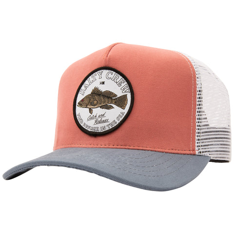 Baybass Clay/Slate Retro Trucker
