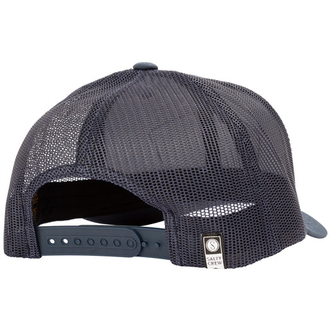 Mossback Navy Retro Trucker