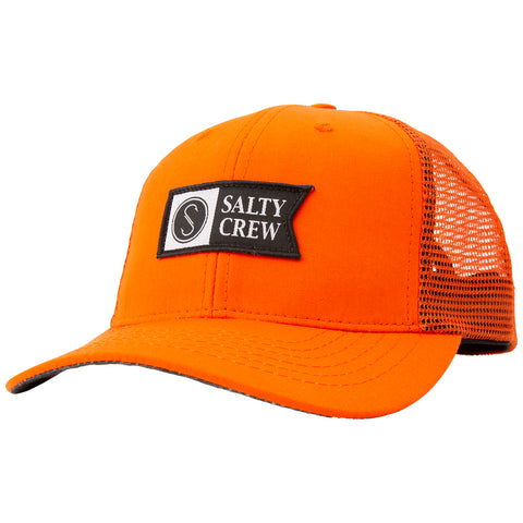 Alpha Decoy Orange Retro Trucker