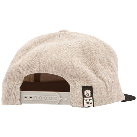 Triad Oatmeal/Black 6 Panel