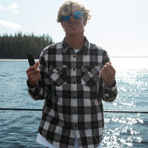 Inshore Natural Flannel