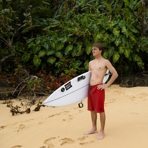 Lowtide Red Boardshorts