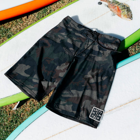 Shacked Camo Boardshorts