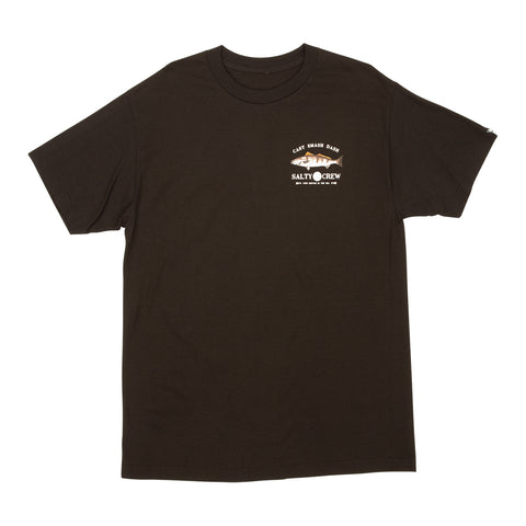 Grey Ghost Black S/S Standard Tee