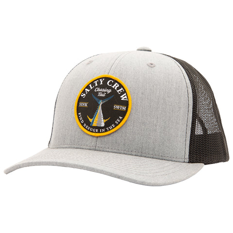 Bottom Dweller Heather Grey/Black Retro Trucker