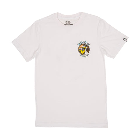 Frothing S/S White Boys Tee