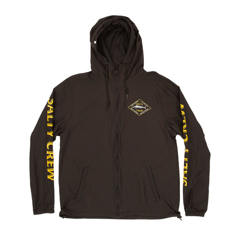Hotwire Black Windbreaker