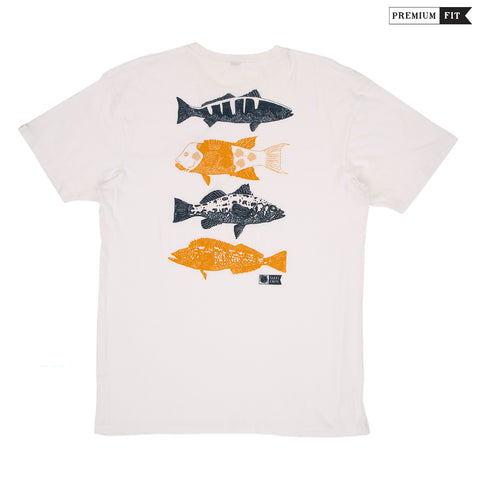 Salty Crew t-shirts.