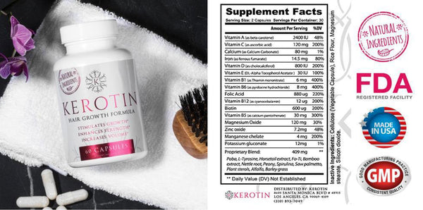 kerotin hair growth formula. Kerotin Hair Growth Formula Is An Unique Combination Of Ingredients That Delivers A Superior Blend Benefits. See Below To Learn More About Our Formula: