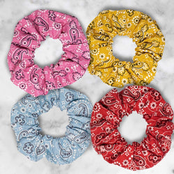 Cotton Scrunchies