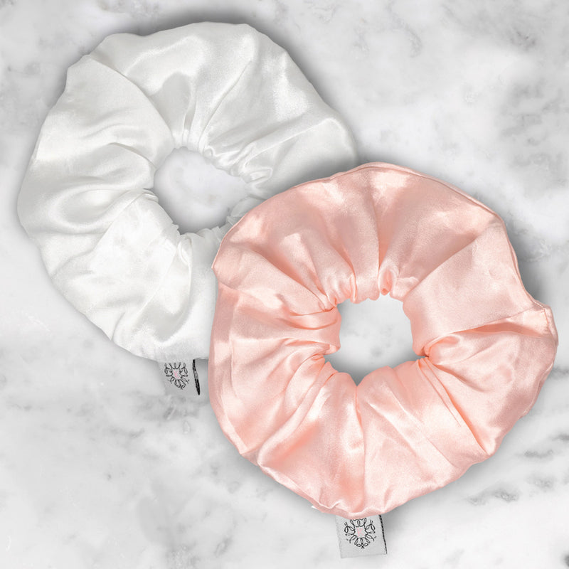 Silk Scrunchies - Large