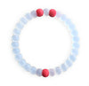 CLEAR/RED BEST FRIENDS BRACELET
