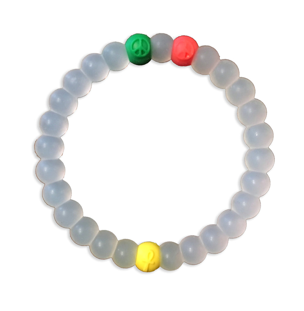 One Love Clear Bracelet