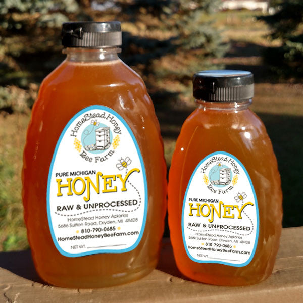 Raw Unprocessed Wildflower Honey