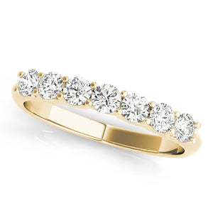 Oh The Night 14k Engagement Ring, Single Row