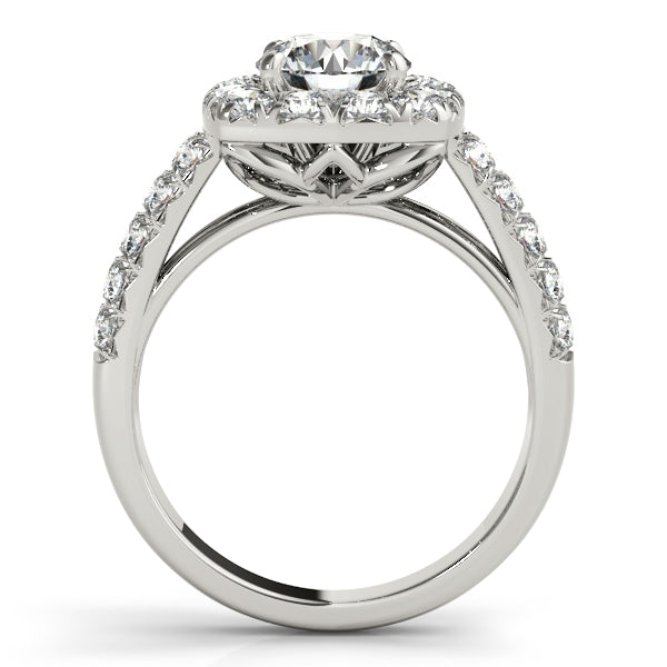Oh the Night Halo Engagement Ring - T'rente Fine Jewelry