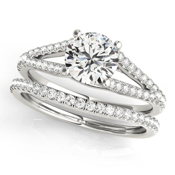 Oh the Night Split Shank Engagement Ring