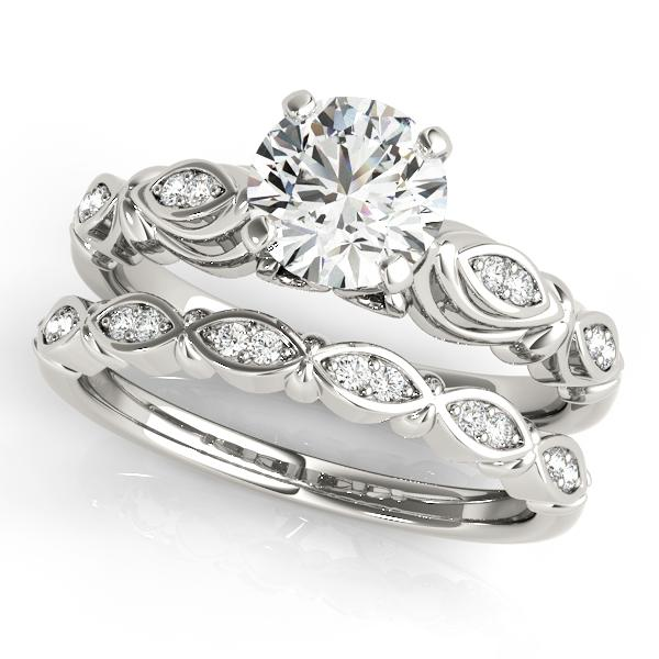 Oh the Night Antique Style Engagement Ring