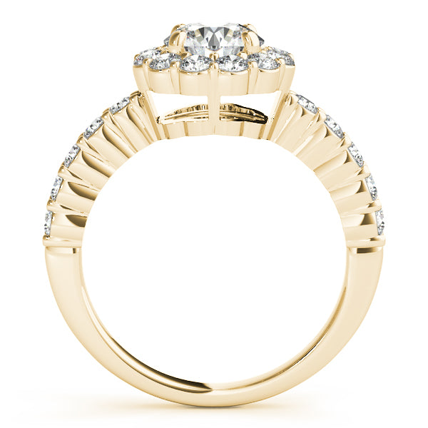 Oh The Night 14k Gold and Diamond New Engagement Bridal Ring - T'rente Fine Jewelry