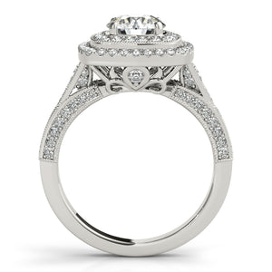 Oh the Night Double Halo Engagement Ring - T'rente Fine Jewelry