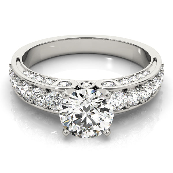 Oh The Night Multi Row Engagement Ring in 14k Gold - T'rente Fine Jewelry