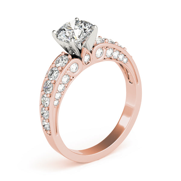 Oh The Night Multi Row Engagement Ring in 14k Gold