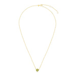 "14kt Gold 18"" Yellow+White Rhodium Finish Fancy Necklace"