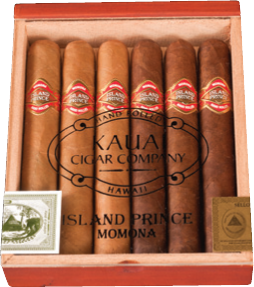 Island Prince Momona Cigars 6ct. Box