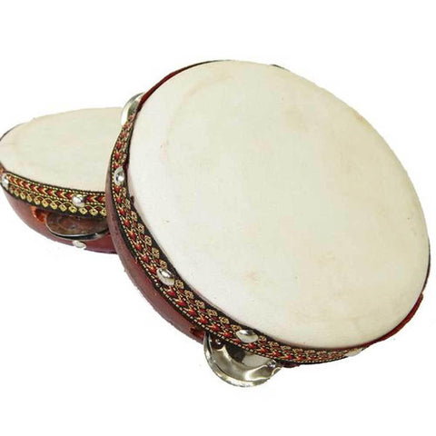 6-inch Frame Tambourine Drum - Jamtown World Instruments