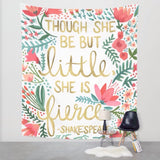 Little and Fierce Tapestry - The TOI Store